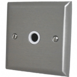 Spectrum Stainless Steel Flex Outlet Plates